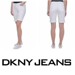 DKNY NEW BERMUDA JEAN SHORTS